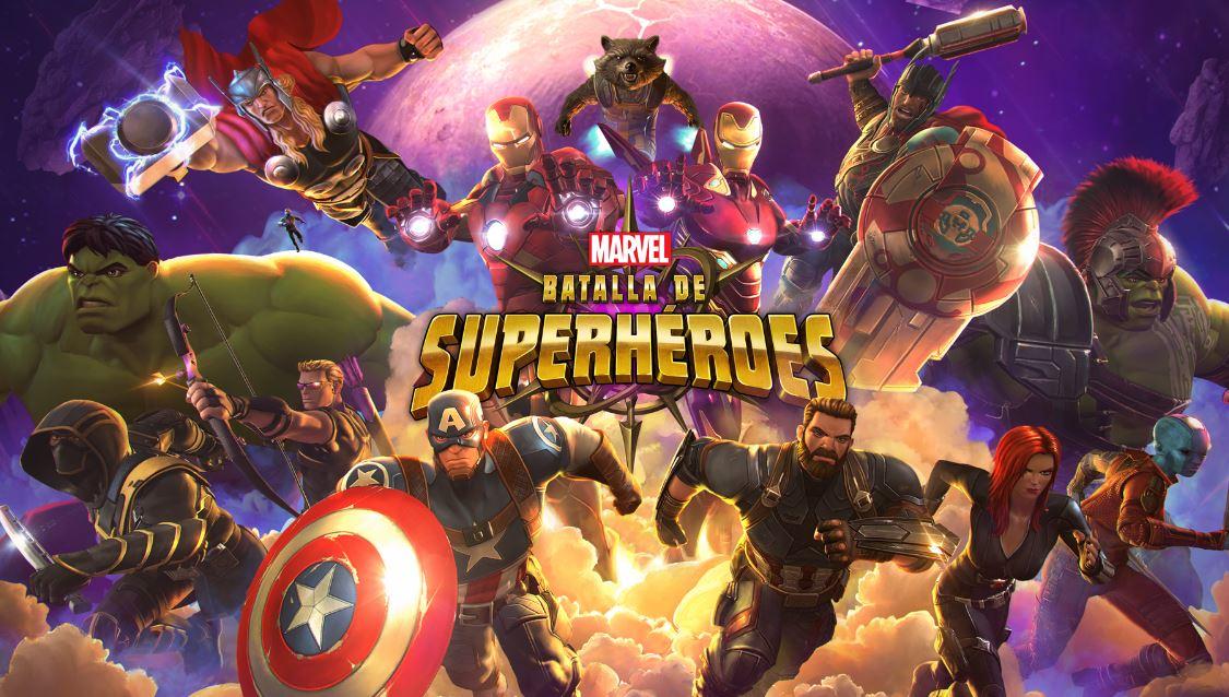 marvel batalla de super héroes